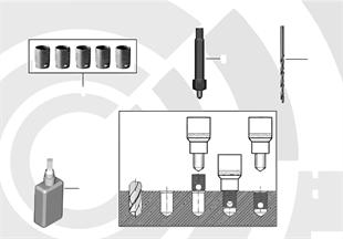 Repair kit, thread repair, thin-wall