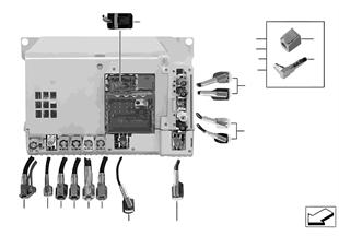 Rep.- wiring harn.assort.Head Unit High