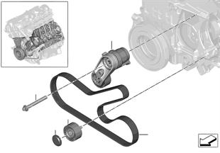 벨트 드라이브, 발전기/에어컨