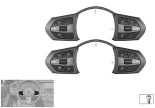 스위치, 스티어링휠, 다기능 M-Sport