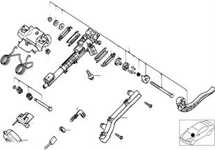 Colonne de direction-reglable/pieces det