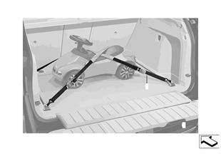 Стяжные ремни багажного отделения