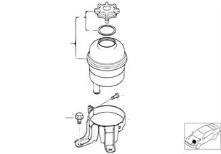 Reservoir d'huile / Pieces detachees