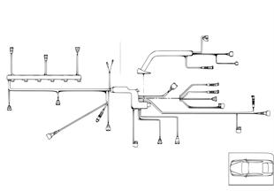 Жгут проводов двигатель/модуль двигателя