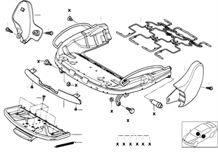 스포츠시트,시트프레임,기계/전동/개별부품