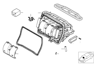 殼體零件 空調器